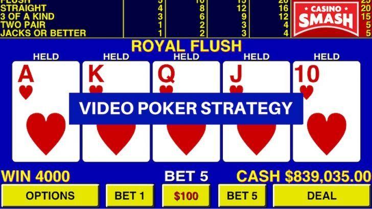 Video Poker Strategy -394662