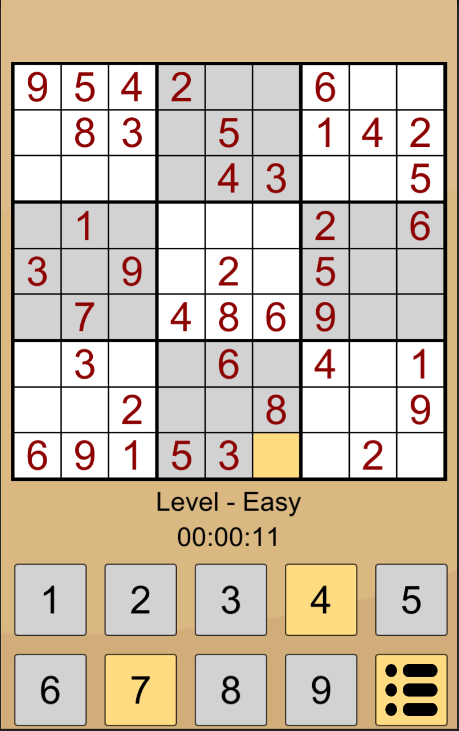 Sudoku Classic -103408