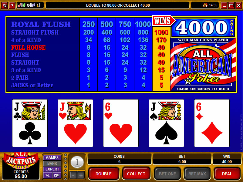Video Poker Strategy -41794