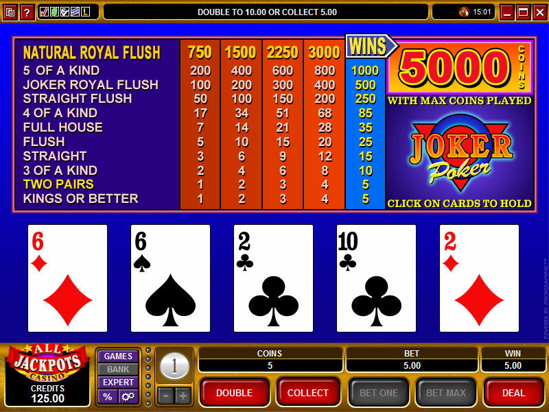 Wild Poker Strategy -944440