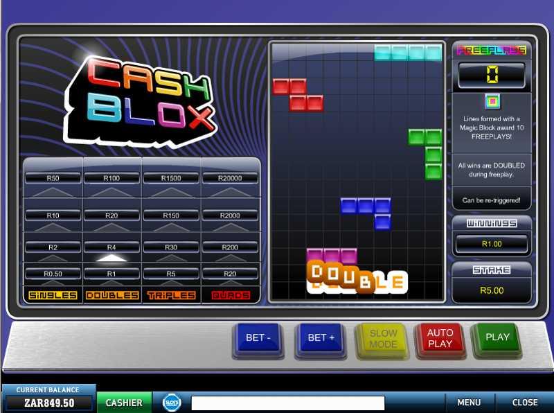 Slot Cash -407978