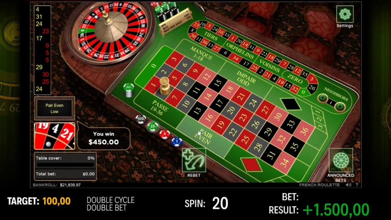 Wins at Roulette -39536