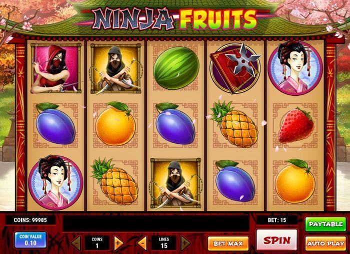 Ninja Fruits Slot -970518
