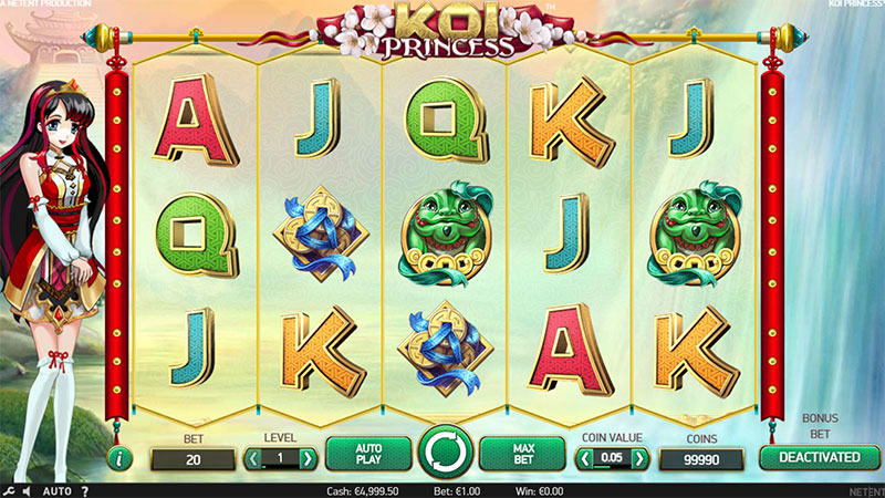 Koi Princess Slot -109144