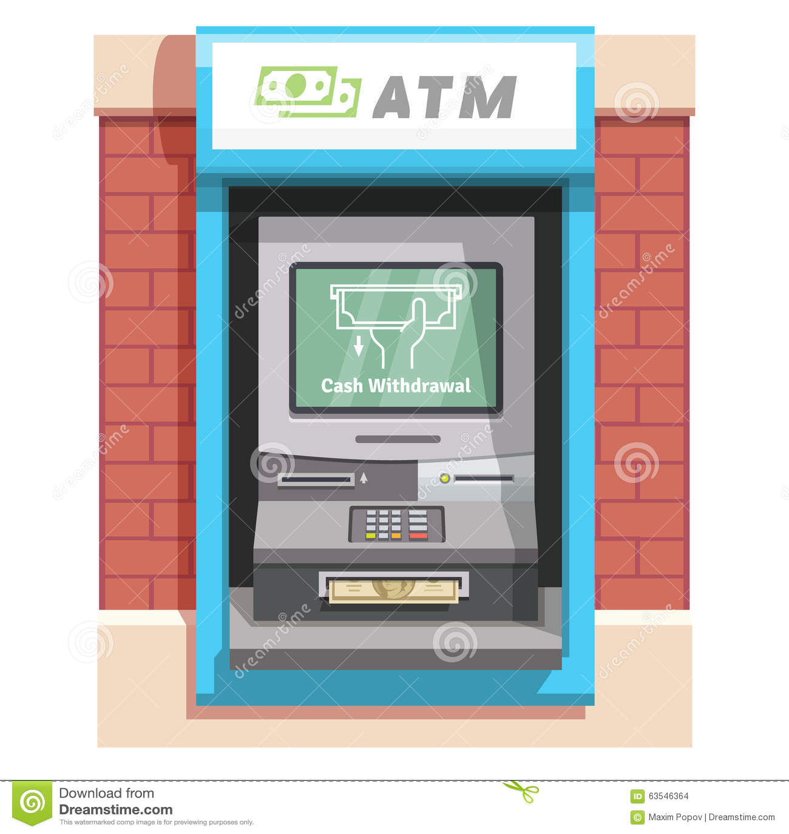 Debit Card Slot -997784