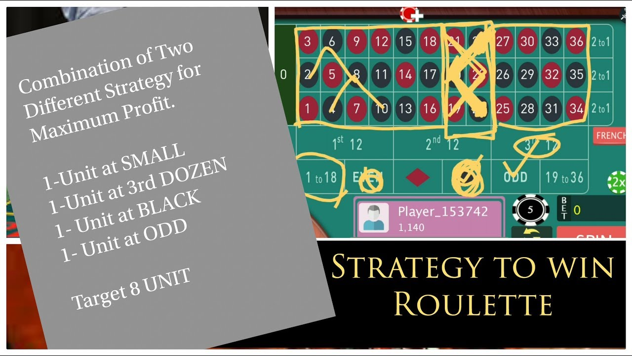 Roulette Strategy to -475145