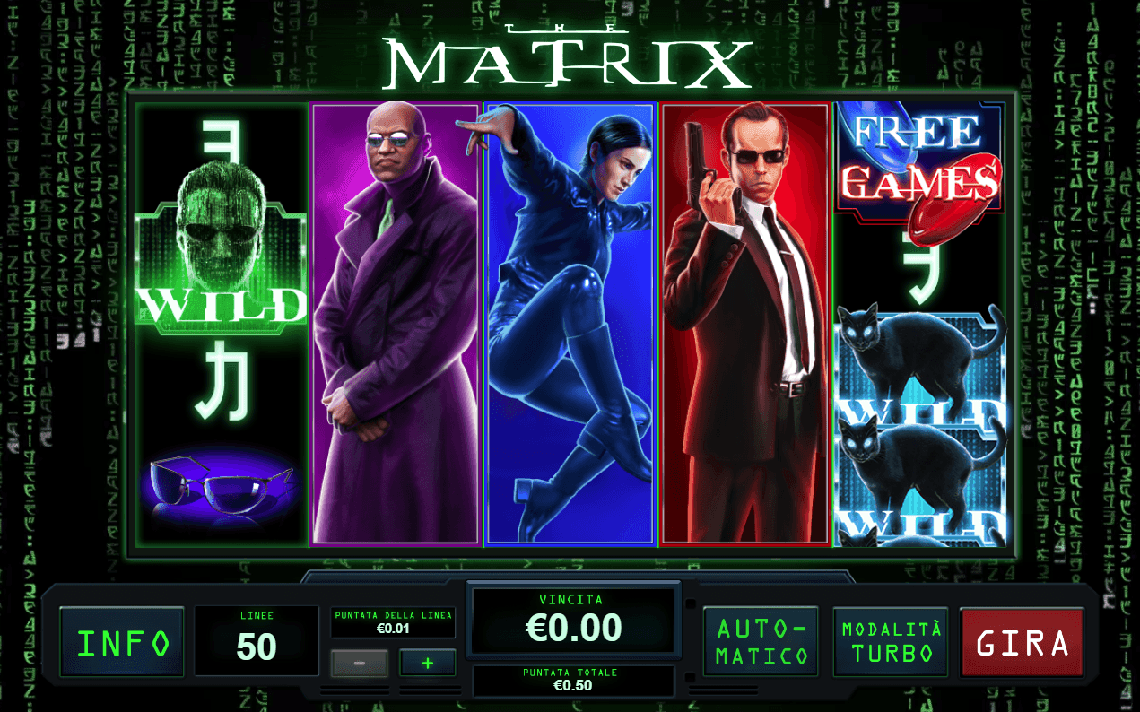 The Matrix Slot -541935