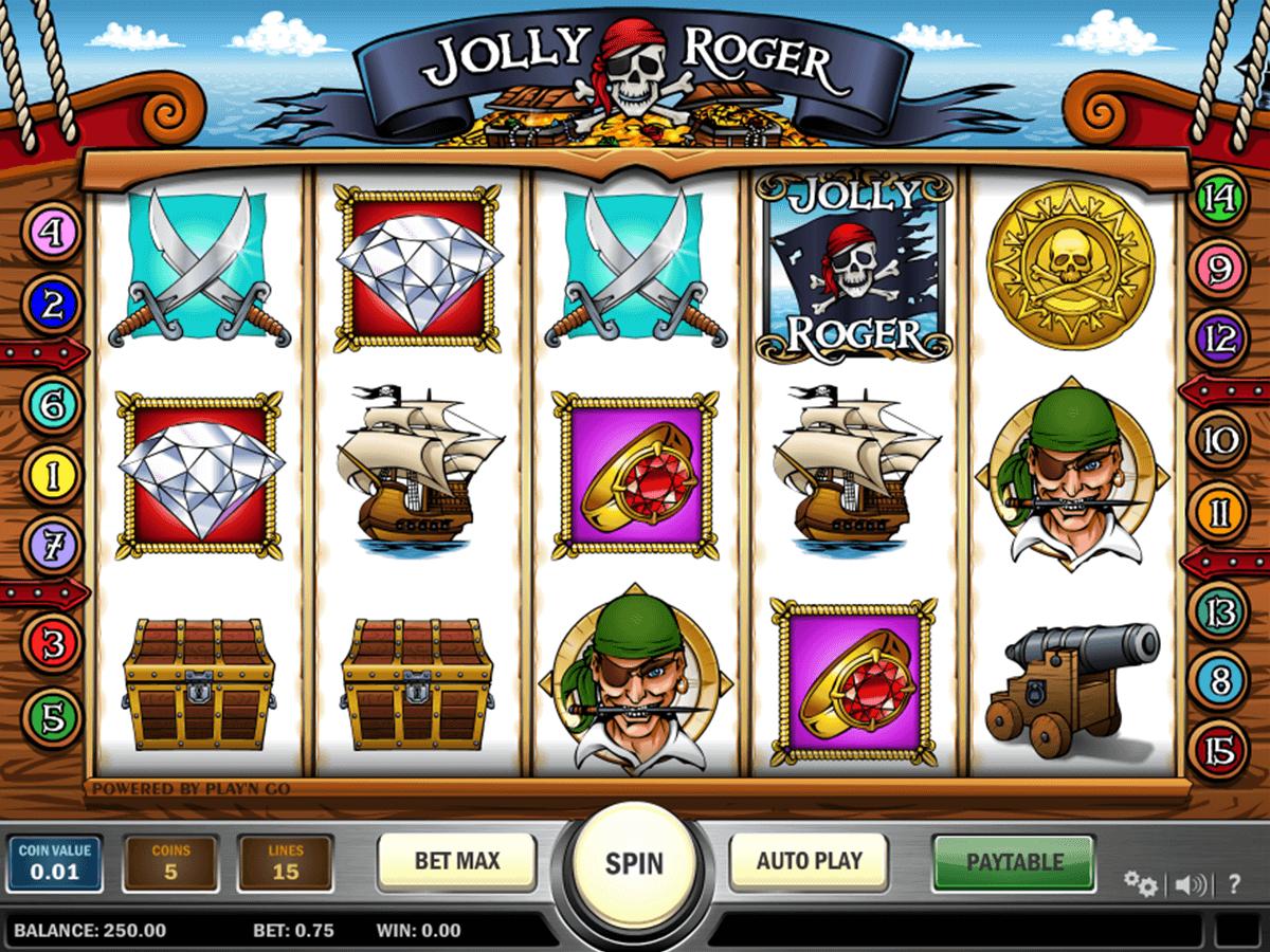 Jolly Roger Slot -161014