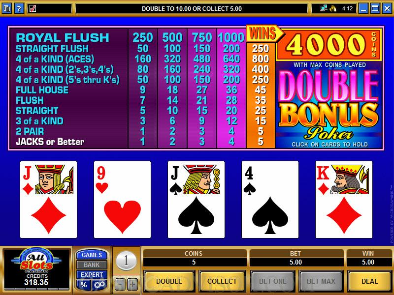 Video Poker Pay -851535