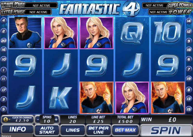Fantastic Four Slot -803467