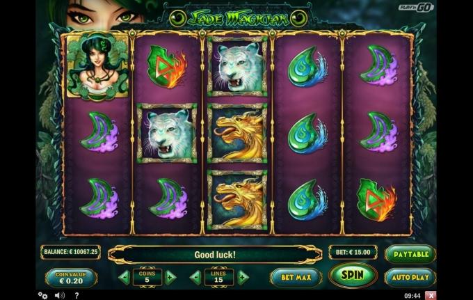 Jade Magician Slot -497467