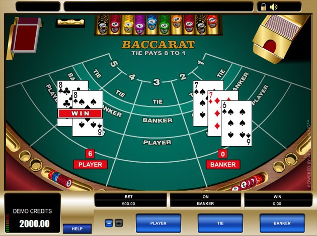 Baccarat Strategy -107413