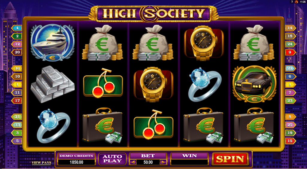 High Society -614133