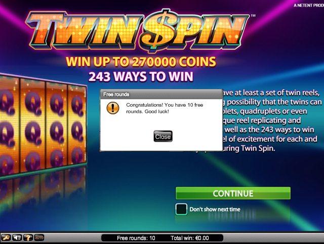 Twin Casino Codes -356105
