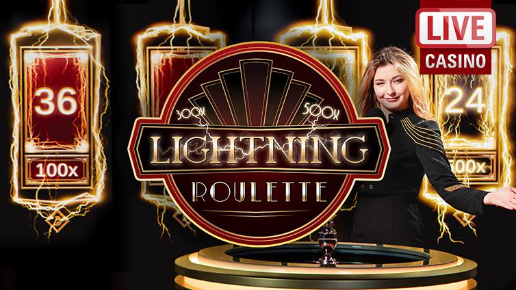 Lightning Roulette Playtech -821083