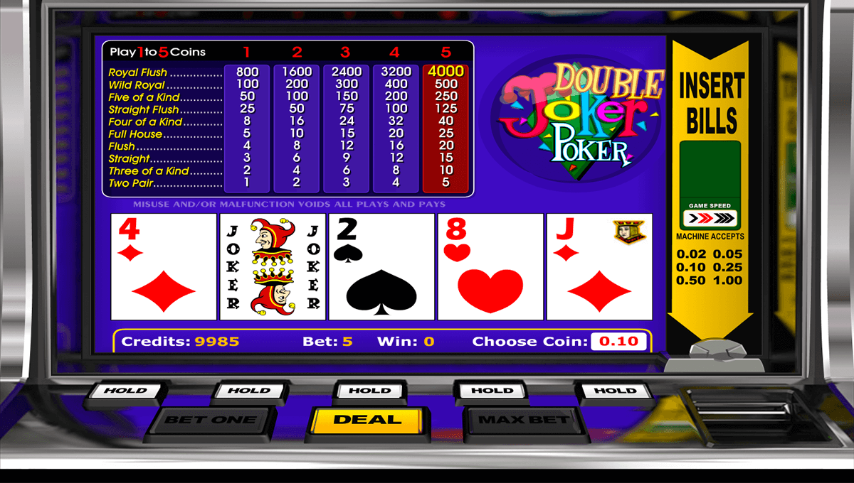 Joker Poker Strategy -518768