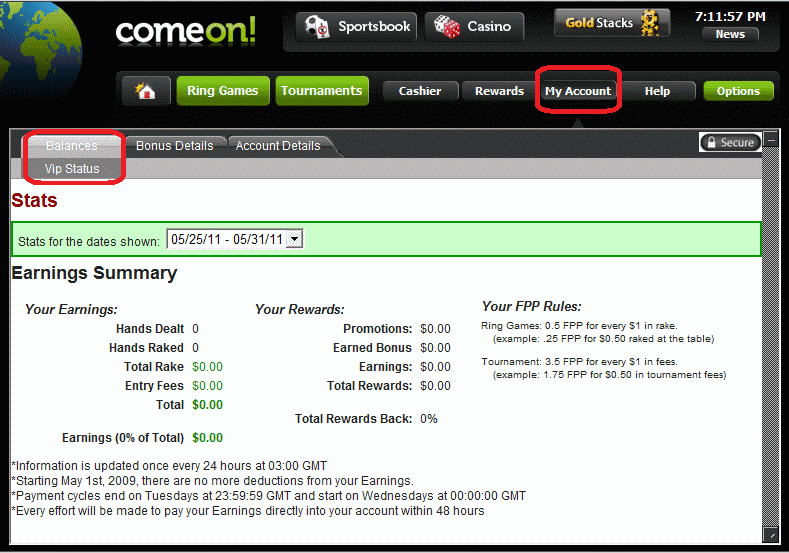 Front Money Accounts -677105