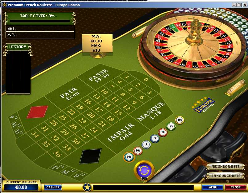 Play French Roulette -608304