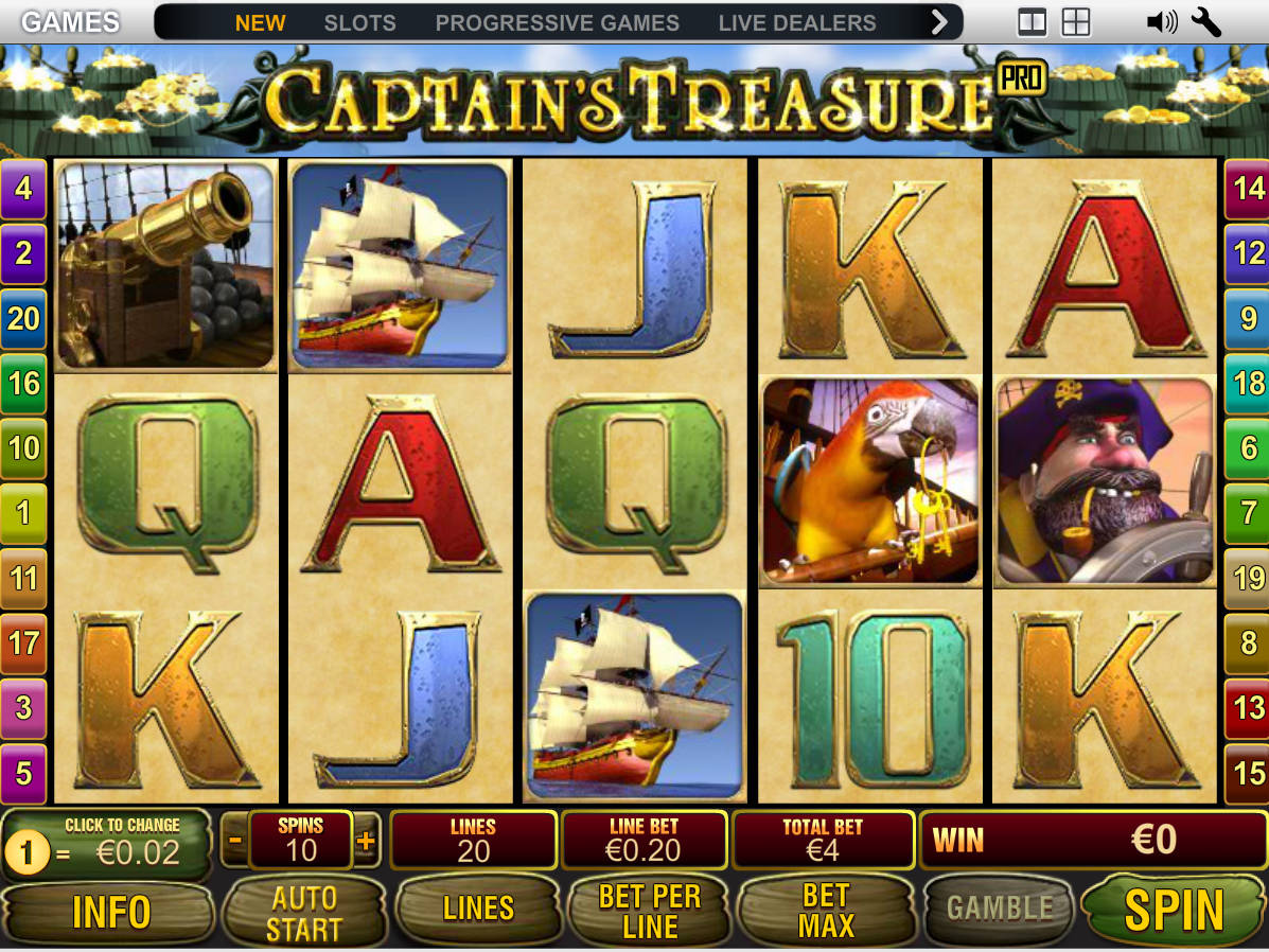 Captain Treasure Pro -557452