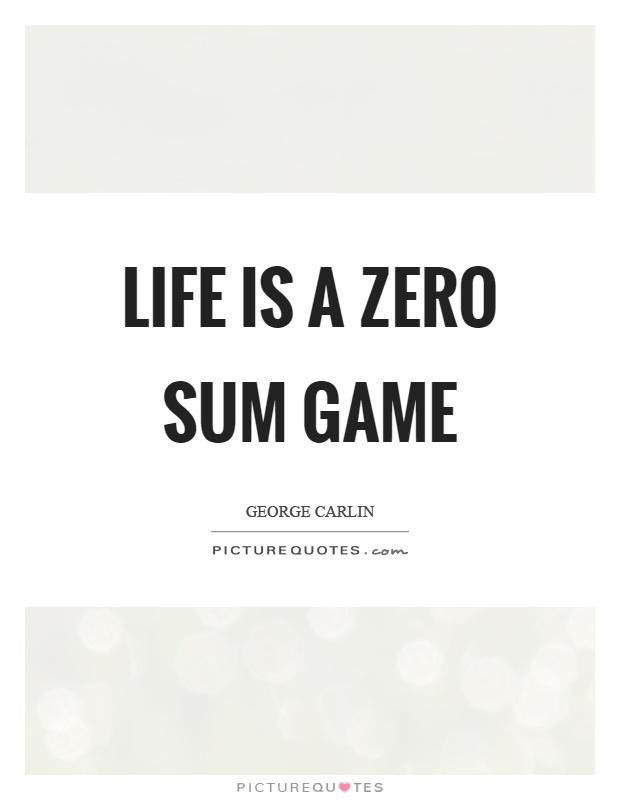 Zero Sum -917690