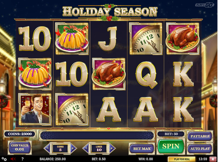 Holiday Season Slot -525318