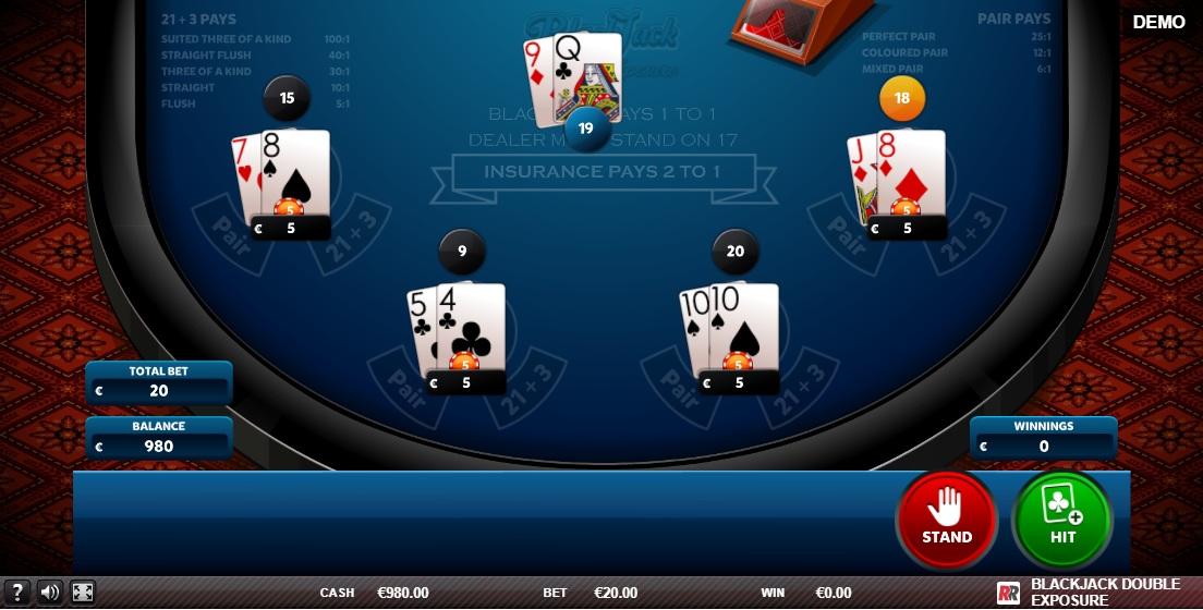 Double Exposure Blackjack -733957