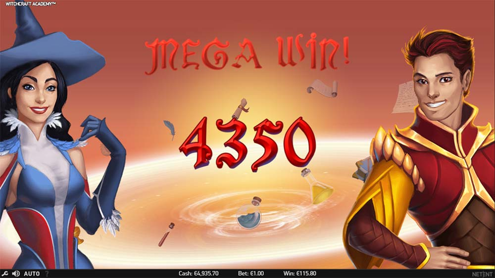 Witchcraft Academy Slot -550974