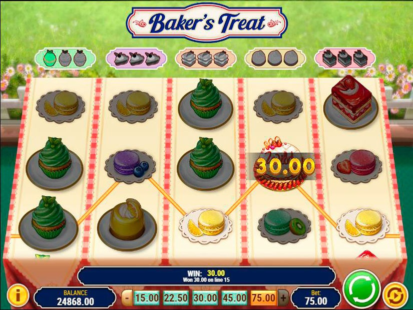 Baker Treat Slot -192049
