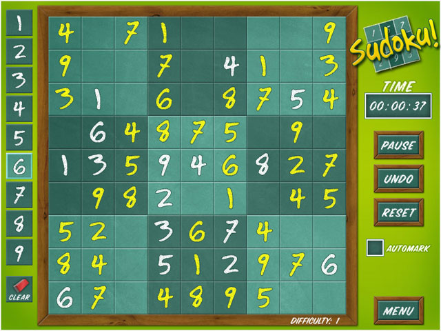 Sudoku Classic -120703