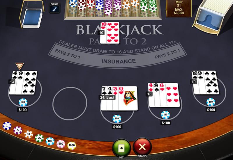 Blackjack Strategy Voodoodreams -843443