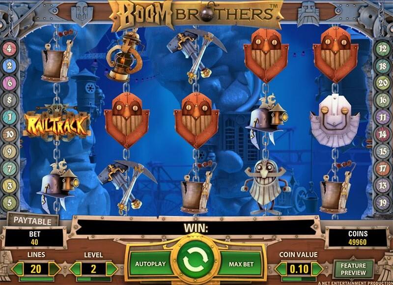 Boom Brothers Slot -46706