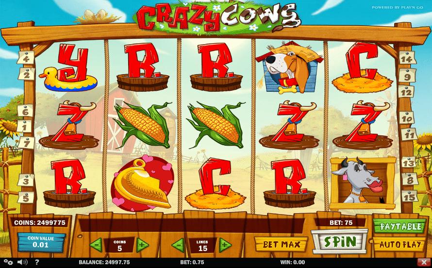 Crazy Cows Slot -783370