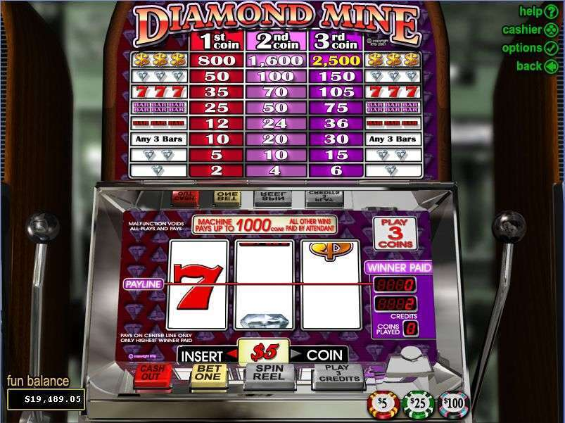 Diamond Mine Slot -886570