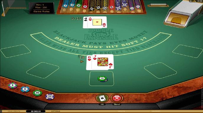 Double Exposure Blackjack -292320