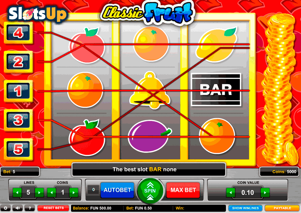 Casino Classic Fruity -382098