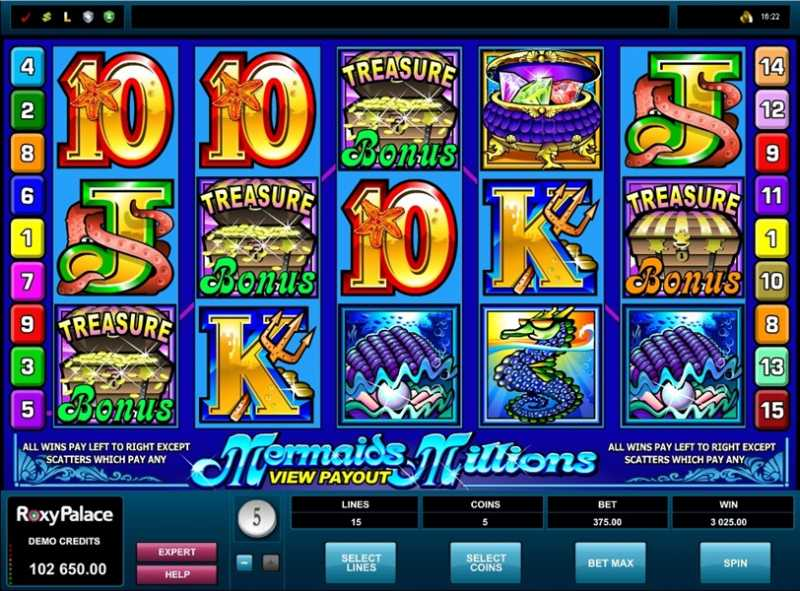Slot Game Features -119970