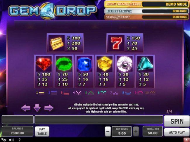 Gem Drop Slot -805742