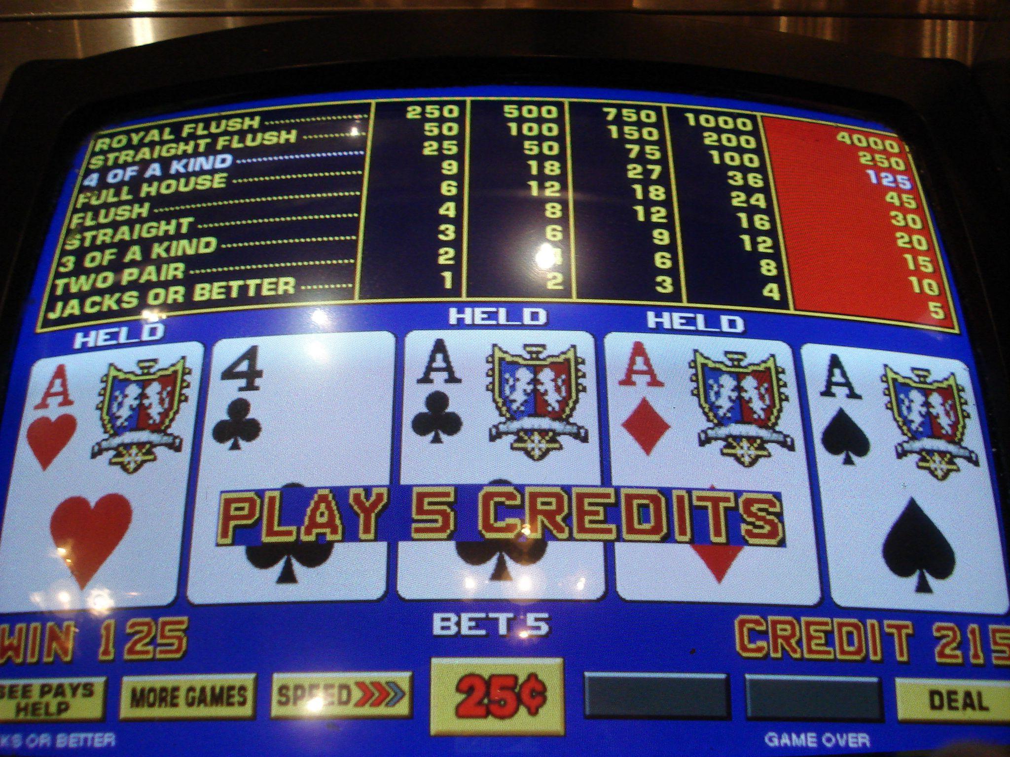 Video Poker -819369