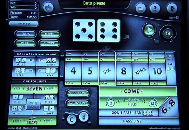 Electronic Craps AHA -708615