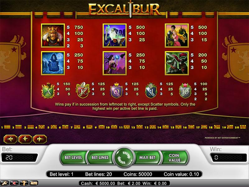Excalibur Slot -963775