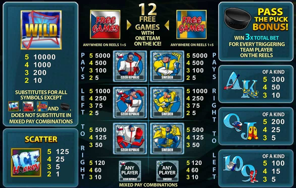 Ice Hockey Slot -776021