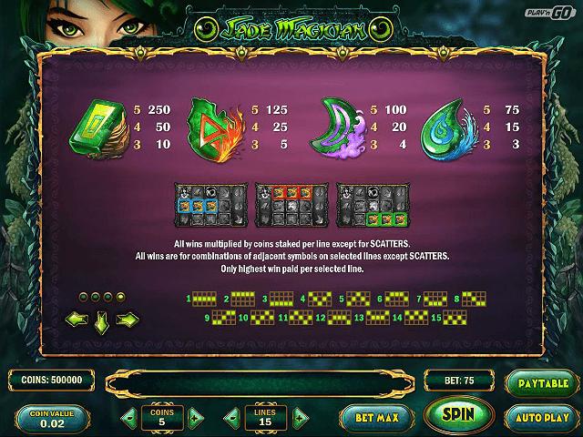 Jade Magician Slot -310238