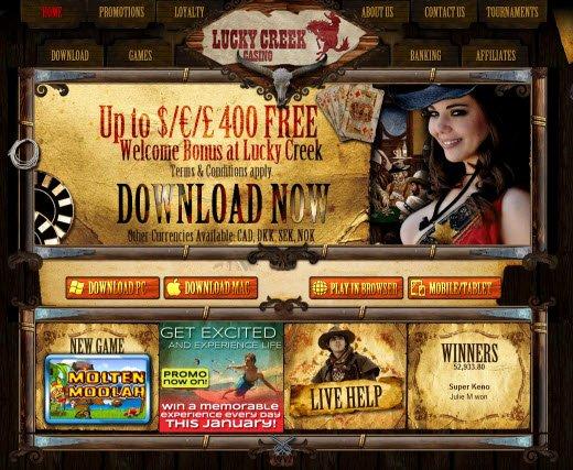 Lucky Creek Games -211381