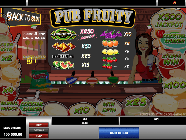 Moody Fruits Slot -99545