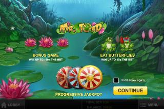 Mr Toad Slot -342160