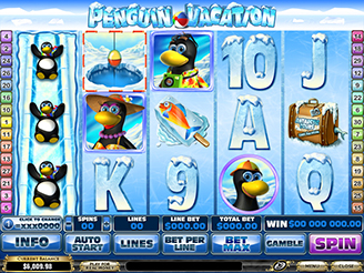 Penguin Vacation -45886