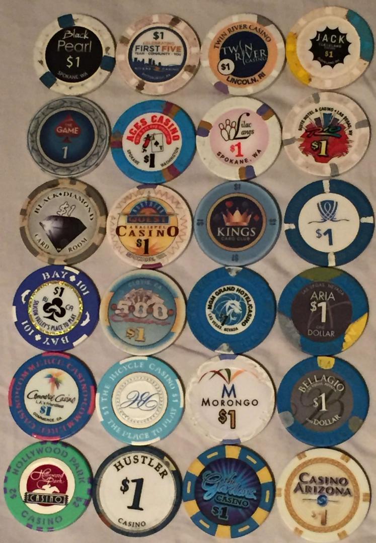 Poker Chip Values -454630