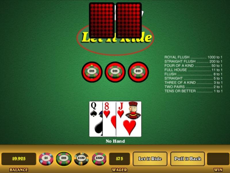 Poker Game -312710
