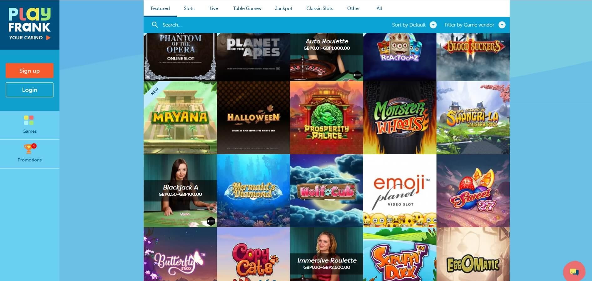 Slot Providers PlayFrank -815542
