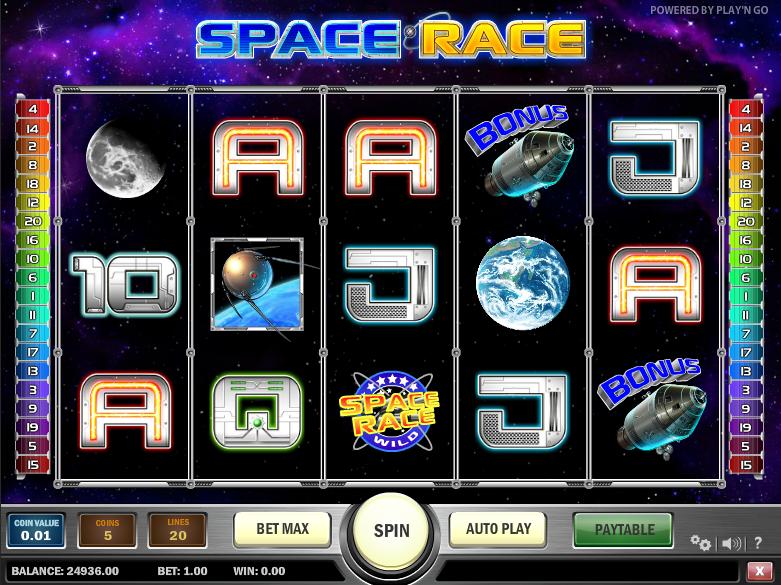 Space Race Slot -283941
